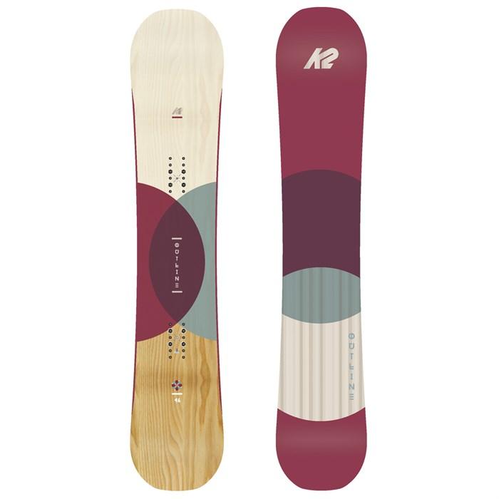 50a6ac3d4fa K2 - Outline Snowboard - Women s 2018