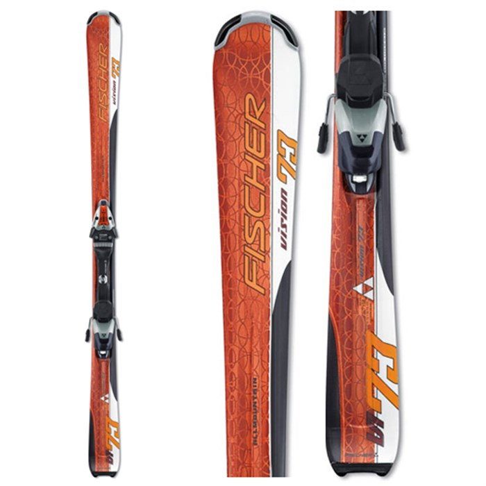 Fischer Vision 73 Skis + Bindings
