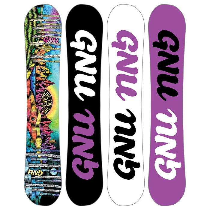 GNU - Asym Ladies Choice C2X Snowboard - Women's 2018