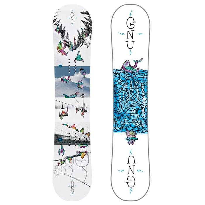 GNU - Recess Asym BTX Snowboard - Boys' 2019