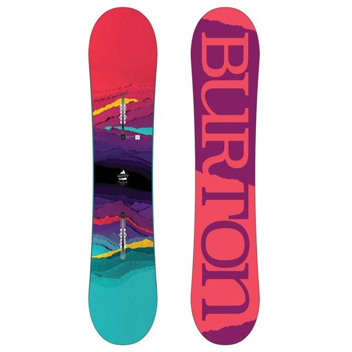 6283d4d262 Burton - Feelgood Smalls Snowboard - Girls  2018 ...