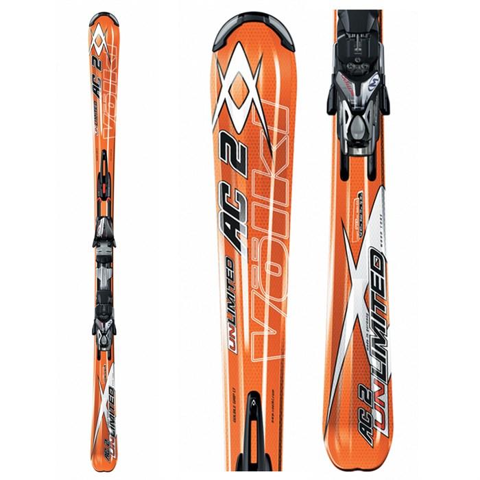 Volkl Unlimited AC2 Skis + Bindings - Used 2007