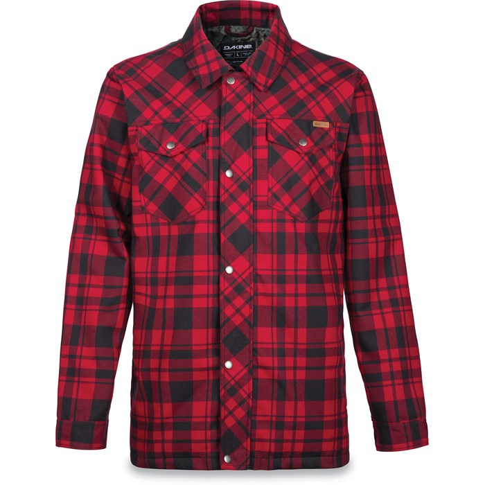 6Y9E Dakine Richmond Flannel Jacket Mens Big Plaid Reduced Cost Buy Authentic