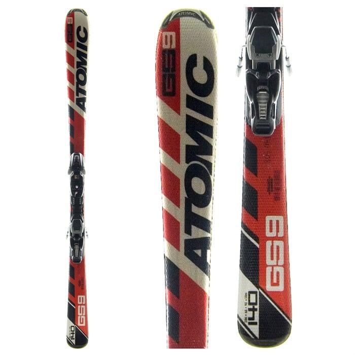 Unikalne Atomic GS: 9 J Skis + Bindings - Youth - Used 2006 - Used   evo XT54