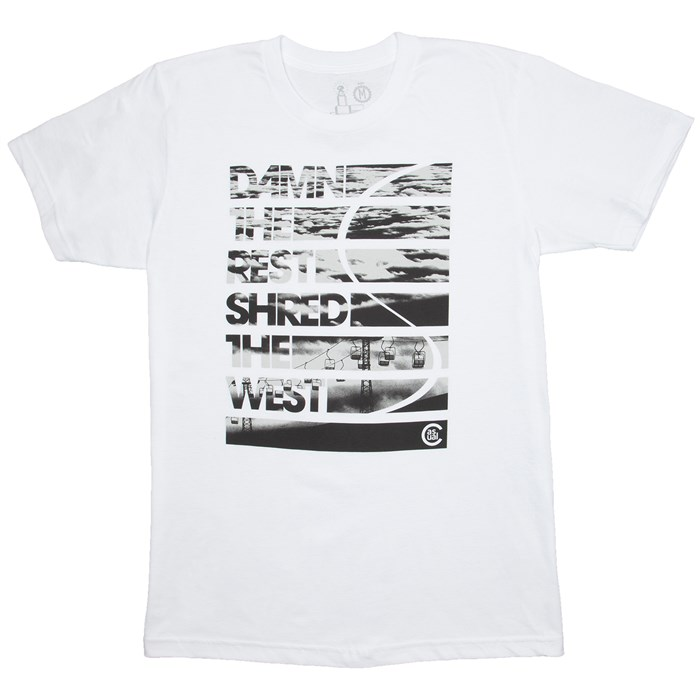 Casual Industrees Damn The Rest Shred The West T-Shirt | evo