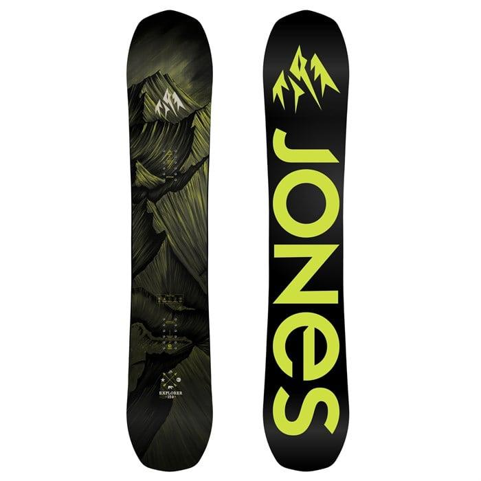 Sell Us Your Bike Reviews >> Jones Explorer Snowboard 2018 | evo