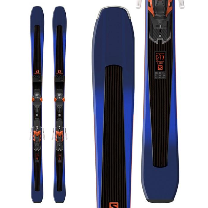 Salomon - XDR 88 Ti Skis + Warden MNC 13 Bindings 2019 - Used