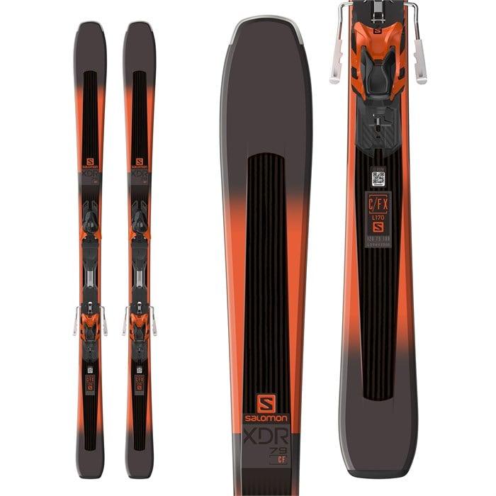 Salomon - XDR 79 CF Skis + XT10 Bindings 2018