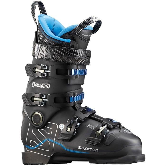 Salomon X Max 100 New In Box 2018 Mens Ski Boots Size 28 28.5 US 10 10.5 Black