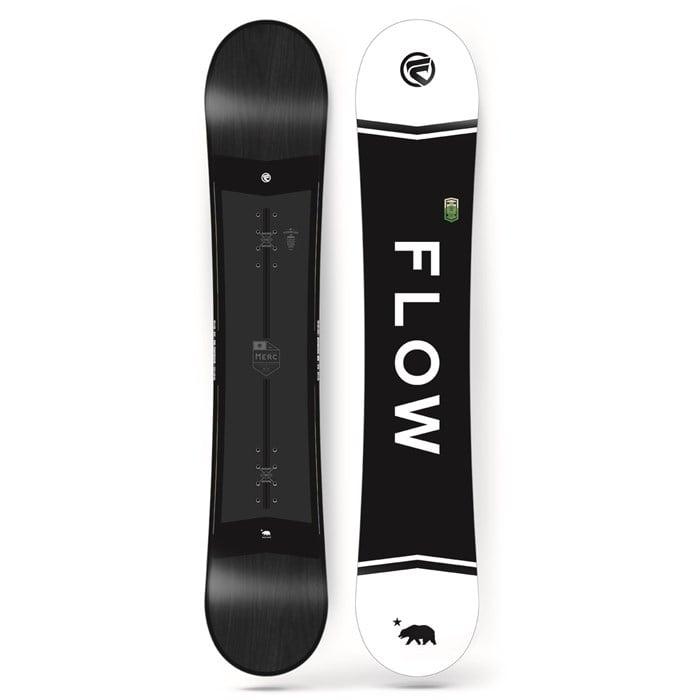 Flow Merc Snowboard 2018   evo cdd549723a0