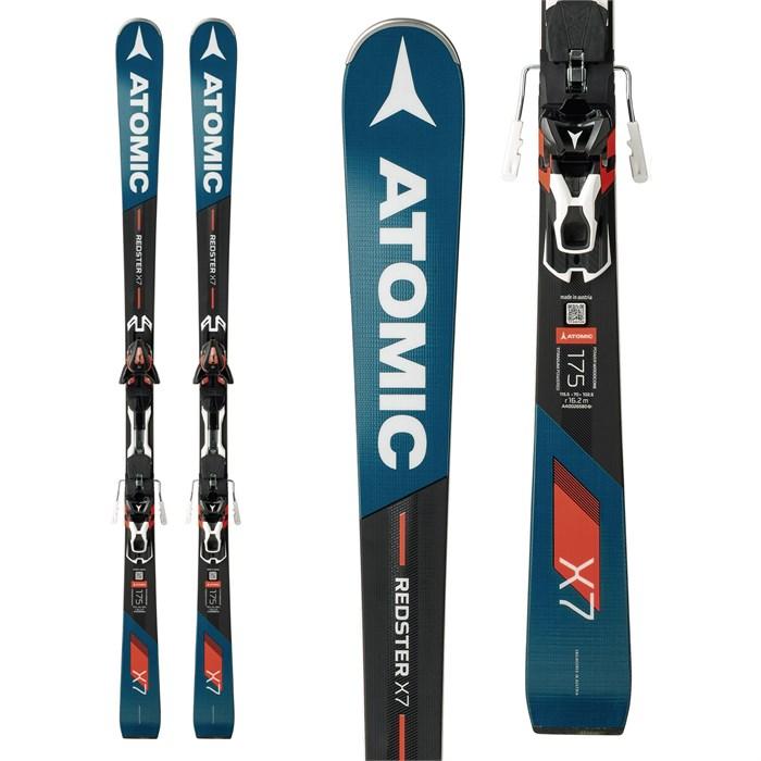 Atomic - Redster X7 Skis + X 12 Bindings 2018