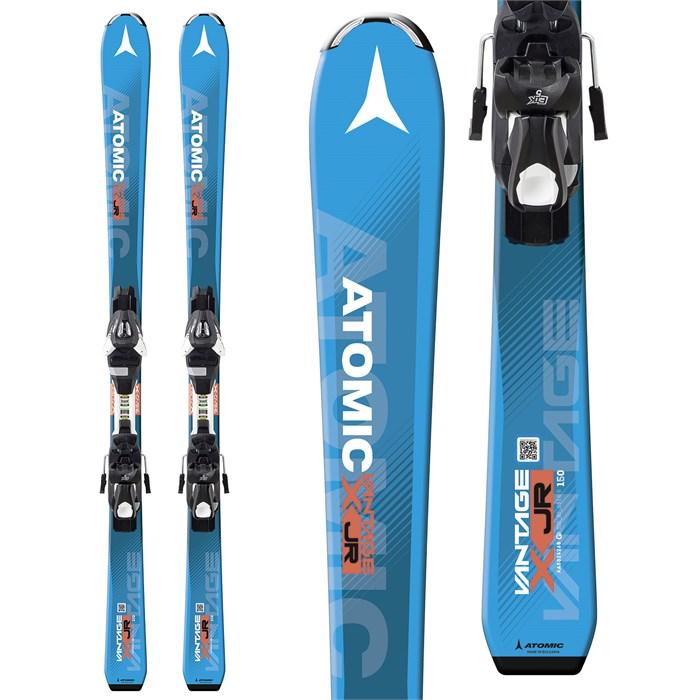 Atomic Vantage Jr III Skis + L 7 Bindings - Boys' 2018