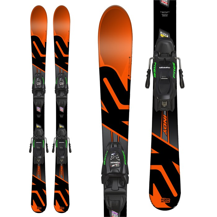 K2 - Indy Skis + Marker FDT 4.5 Bindings - Boys' 2018