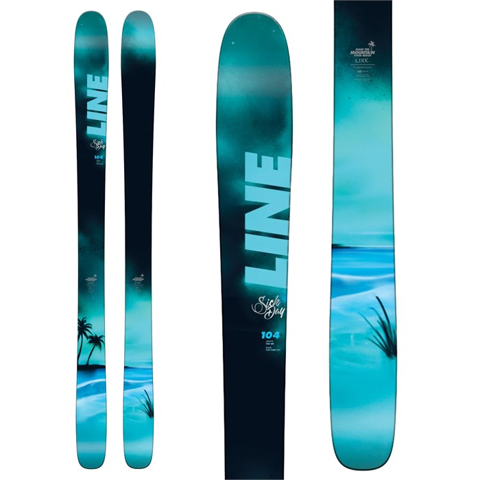 Line Skis - Sick Day 104 Skis 2018