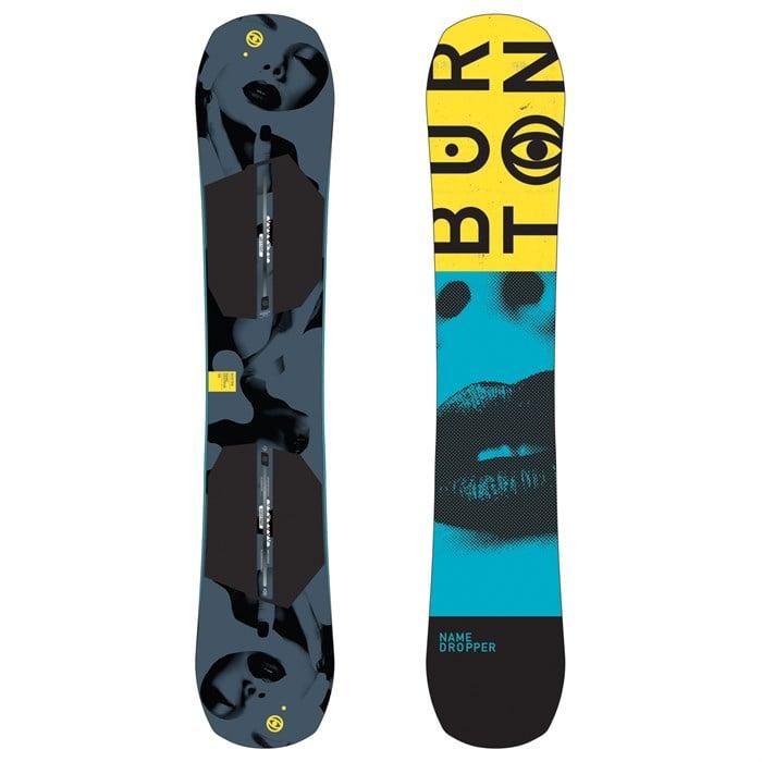 Burton - Name Dropper Snowboard 2018 - Used