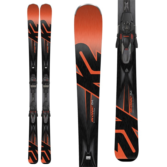 K2 - iKonic 84 Skis + M3 12 TCX Light Bindings 2018