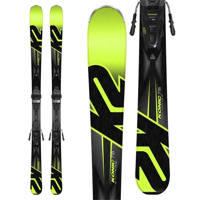 K2 - Konic 78 Skis + M3 10 Bindings 2018