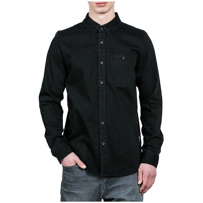 Volcom - Crowley Long-Sleeve Denim Shirt