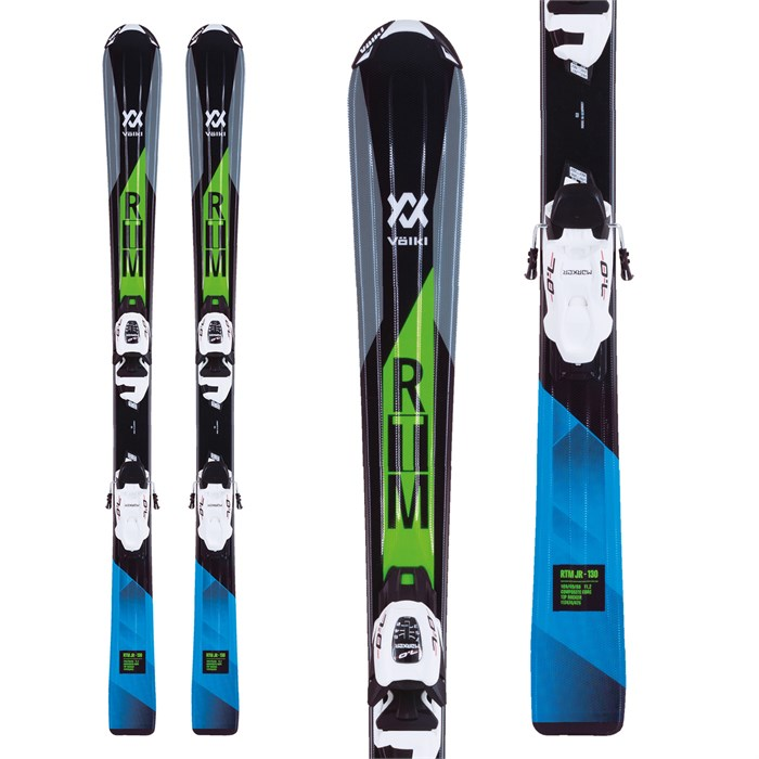 Volkl - RTM Jr Skis + 7.0 VMotion Jr Bindings - Boys' 2018