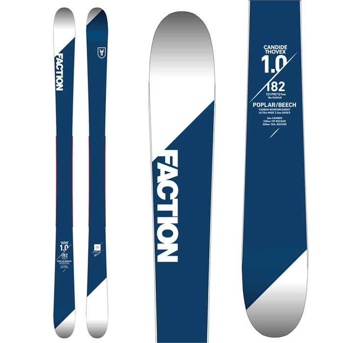 Faction - Candide 1.0 Skis 2018