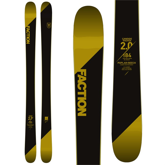 Faction - Candide 2.0 Skis 2018