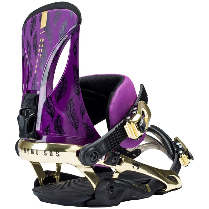 Rome - Madison Boss Snowboard Bindings - Women's 2017