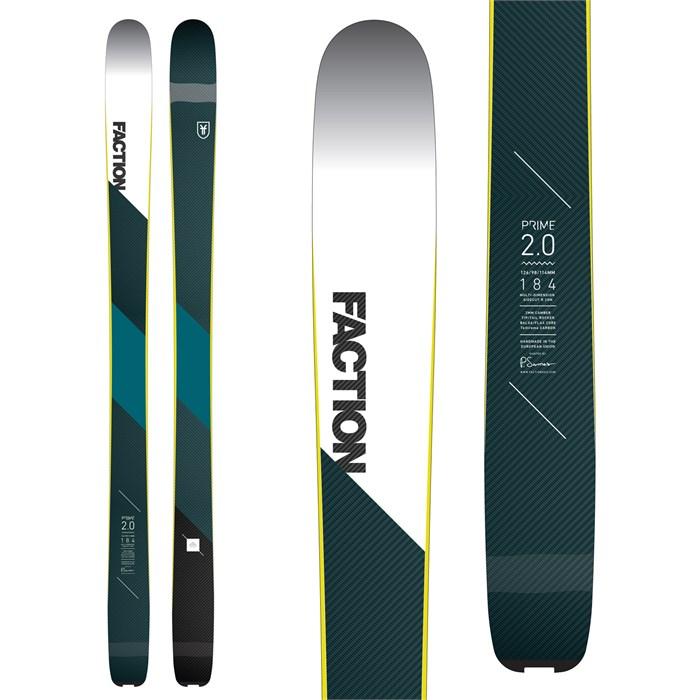 Faction - Prime 2.0 Skis 2018