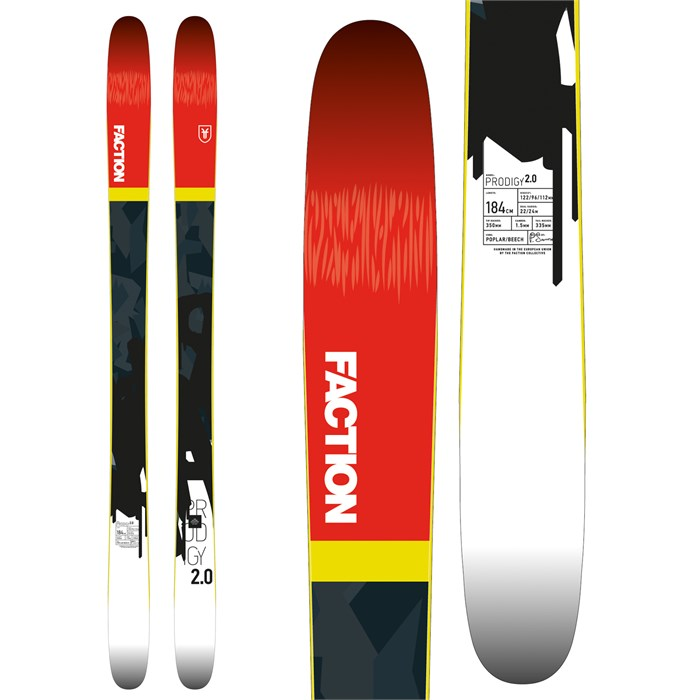 Faction - Prodigy 2.0 Skis 2018