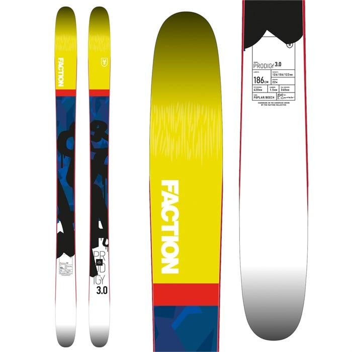 Faction - Prodigy 3.0 Skis 2018