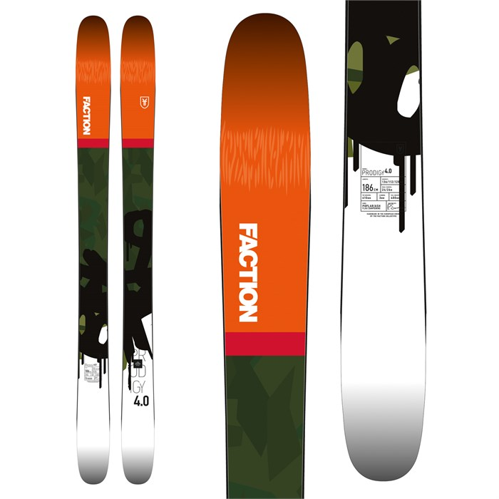 Faction - Prodigy 4.0 Skis 2018