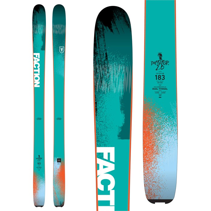 Faction - Dictator 2.0 Skis 2018