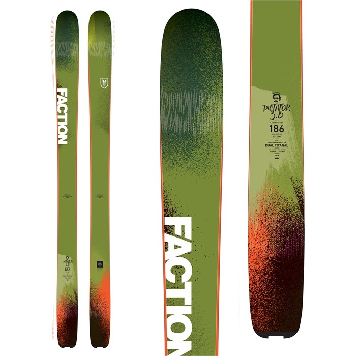 Faction - Dictator 3.0 Skis 2018