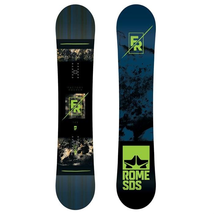 Rome - Factory Rocker Snowboard 2018