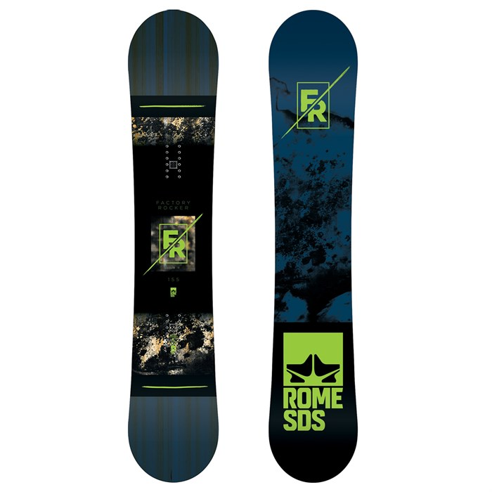 Rome - Factory Rocker Snowboard 2018 - Used