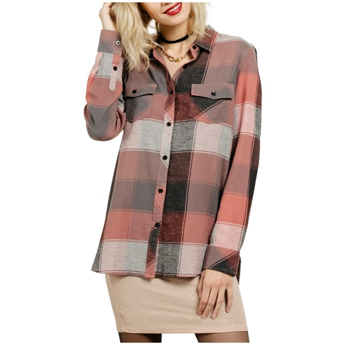 Volcom - Fly High Long-Sleeve Shirt - Women's