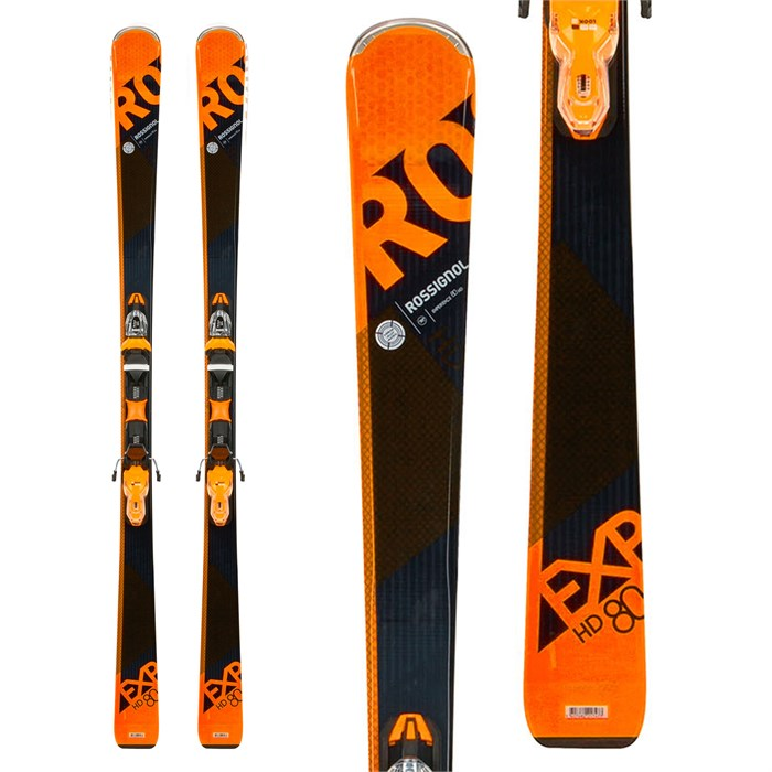 Rossignol E-Edge Kids Skis 110 cm Used