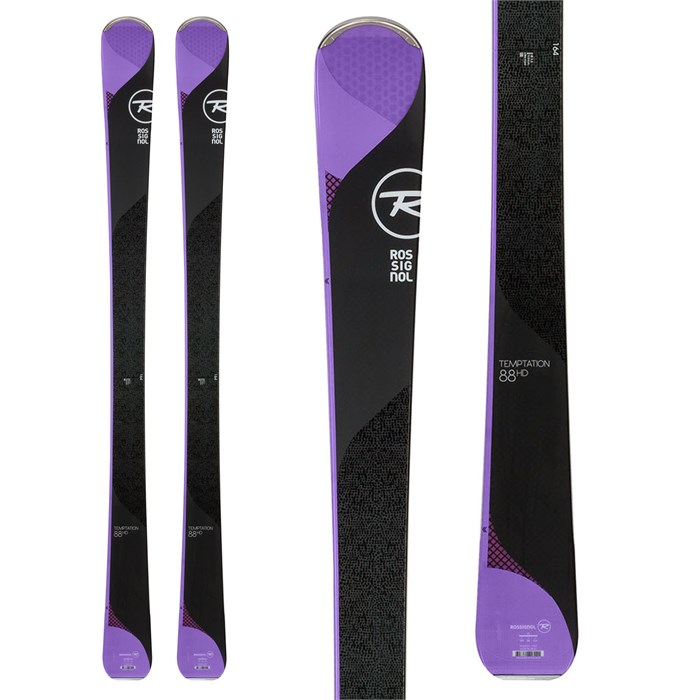 Rossignol - Temptation 88 HD Skis - Women's 2018