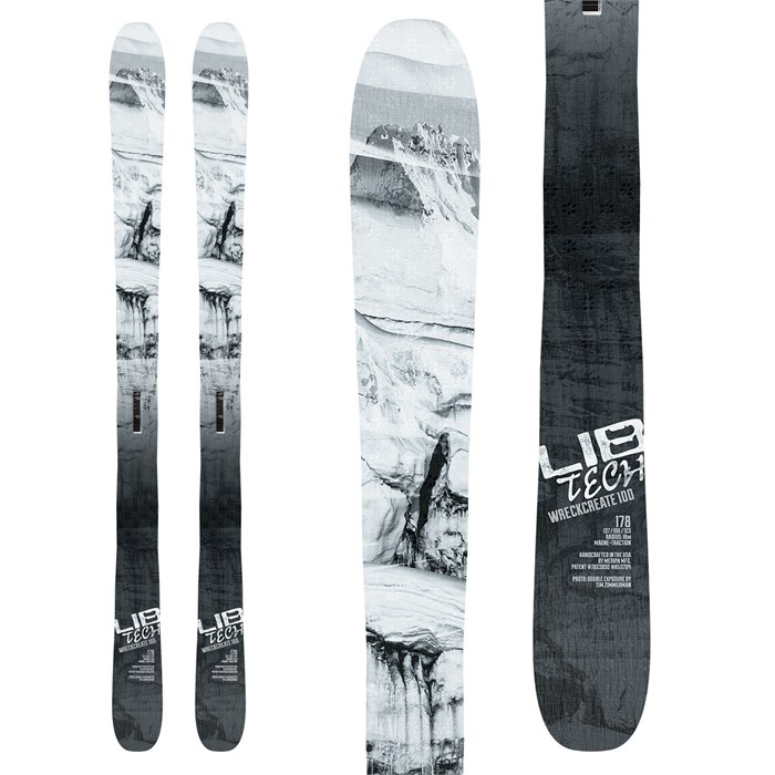 Lib Tech - Wreckreate 100 Skis 2018