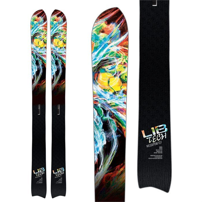 Lib Tech - Mega Pow Skis 2018