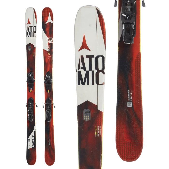 Atomic Vantage 95 C Skis + FFG 12 Bindings 2017 - Used