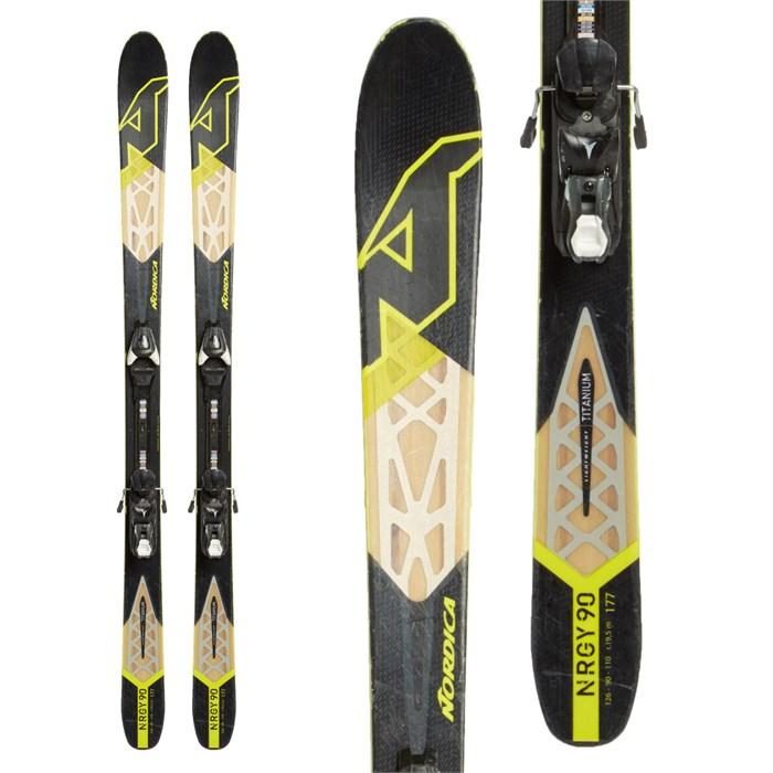 Nordica NRGy 90 Skis + Atomic FFG 12 Bindings 2016