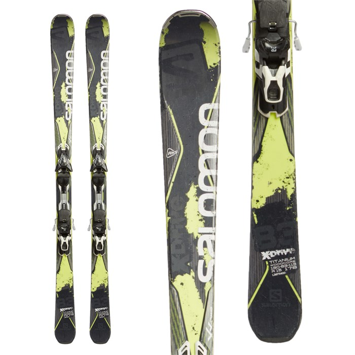 Salomon - X-Drive 8.3 Skis + XT12 Bindings 2016 - Used
