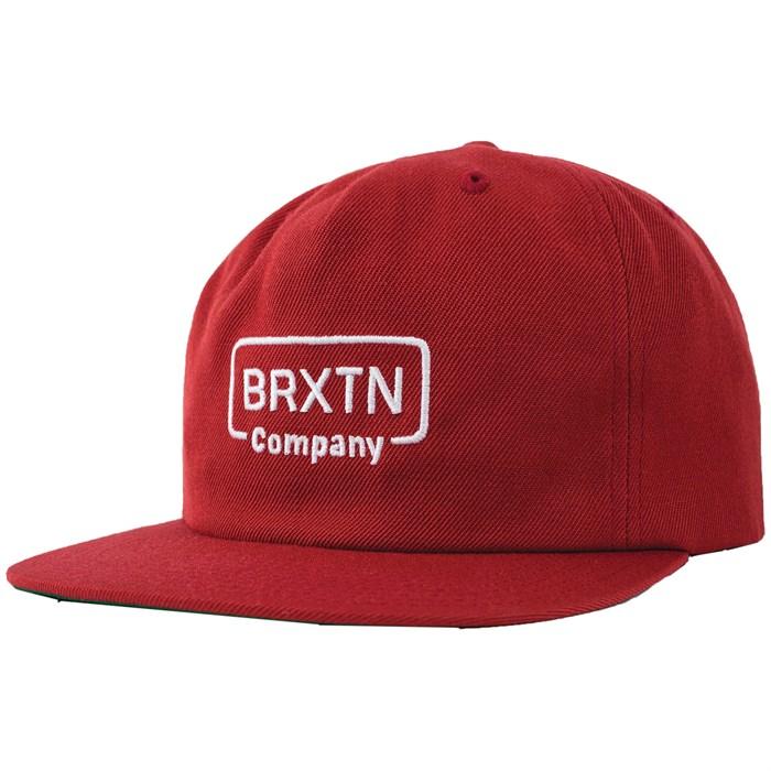2d0643695f797 Brixton - Crosswhite Snapback Hat
