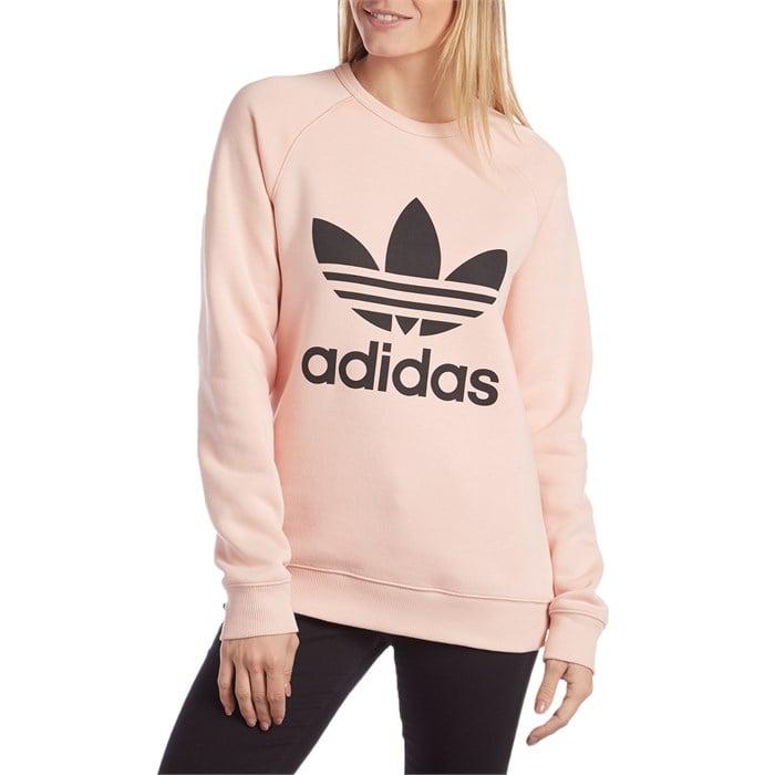 huge selection of e9474 380c5 Adidas - Trefoil Crewneck Sweatshirt - Women s ...