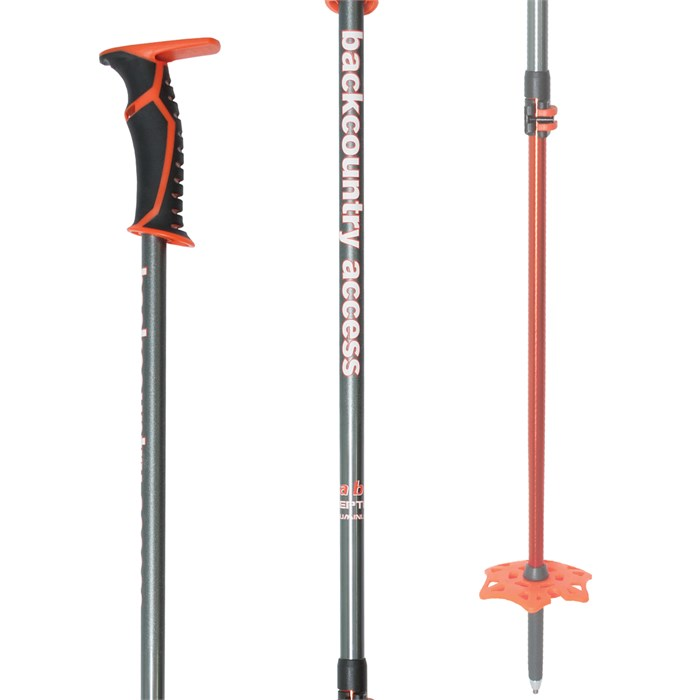BCA - Scepter Adjustable Aluminum Ski Poles 2018
