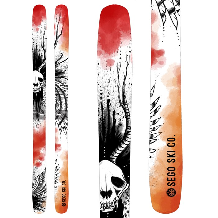 Sego Ski Co. Big Horn 106 Skis 2019  6199c80f5