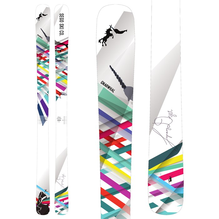 Sego Ski Co. Gnarwhal Skis - Women s 2018  fbecd195e