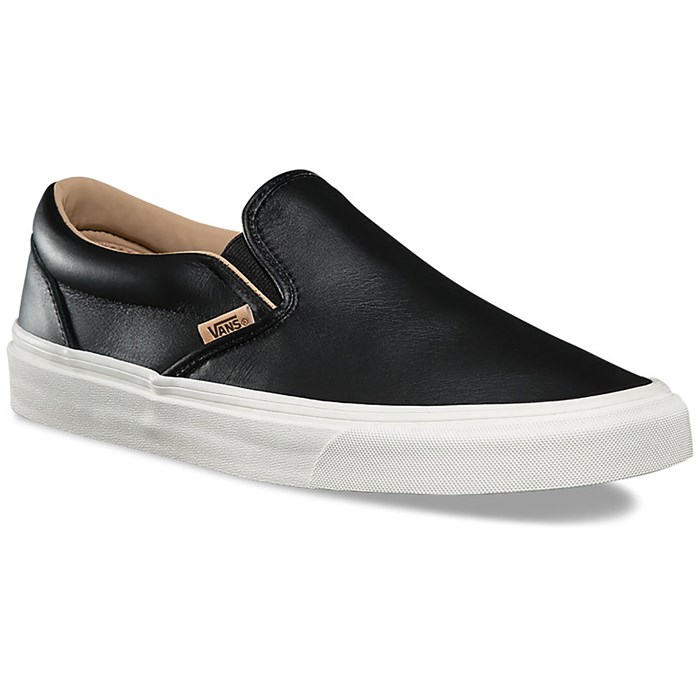 32ac1b4f3c90 Vans - Lux Leather Classic Slip-On Shoes ...