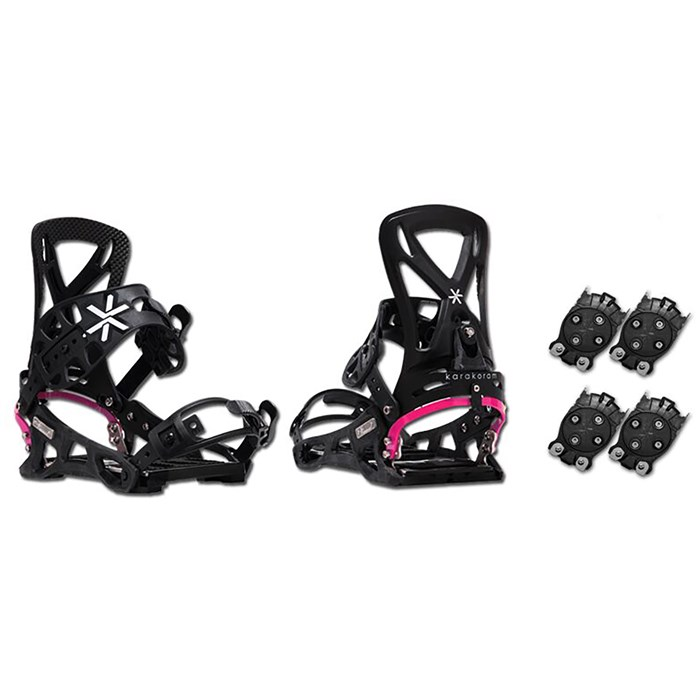 Karakoram - Connect + 2x Quiver Connector Snowboard Bindings - Women's 2018