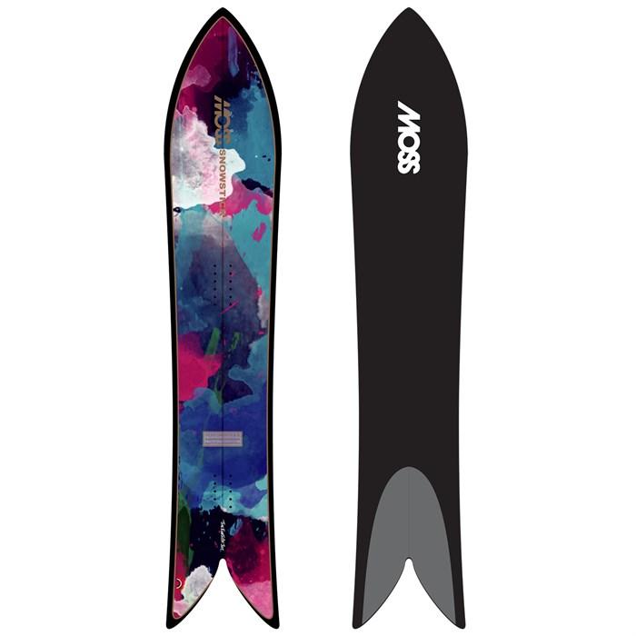Moss Snowstick - Performance Quad 60 Snowboard 2018